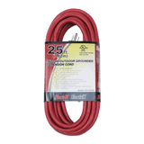 EC1425UL, 25ft Indoor/Outdoor Grounded Extension Cord