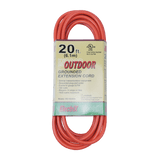 EC1625UL, 20ft Indoor/Outdoor Grounded Extension Cord
