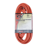 EC1625ULF, 25ft Indoor/Outdoor Grounded Extension Cord