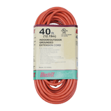 EC1650UL, 40ft Indoor/Outdoor Grounded Extension Cord