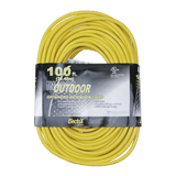 EC12100ULF, 100ft Indoor/Outdoor Grounded Extension Cord