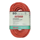EC16100UL, 80ft Indoor/Outdoor Grounded Extension Cord