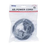 PS01, 6ft Power Cord