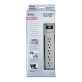 PS09S-12, 6 Outlet Power Strip with Surge Protection