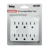 PS23, 6 Outlet Grounded Wall Tap