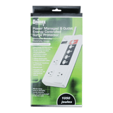 PS101, Power Managed 8 Outlet Energy Controlled Surge Protector