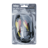VA306GBC, 6ft RCA Stereo Audio/Video Patch Cable