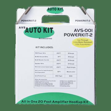 AVS001, AVS Auto Kit 1200 Watt Complete Amplifier Hookup Kit