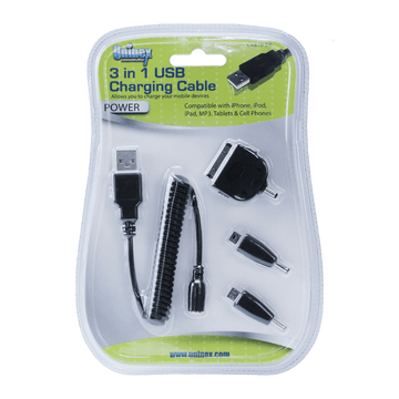 CA610 DB, 3 in 1 USB Charging Cable