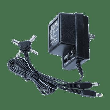 CV002, 500mA Universal AC/DC Adaptor