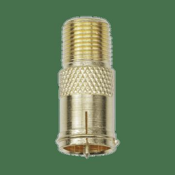 FB06G, Quick-On F Plug to F Jack Adapter