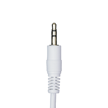 MN06DB WT, 6ft (1.83m) Stereo Patch Cable with 3.5mm Plugs