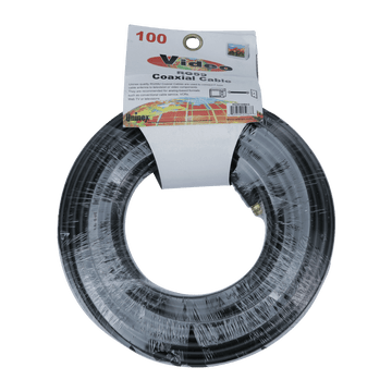 RG59100BKG, RG59 80ft Coaxial Cable