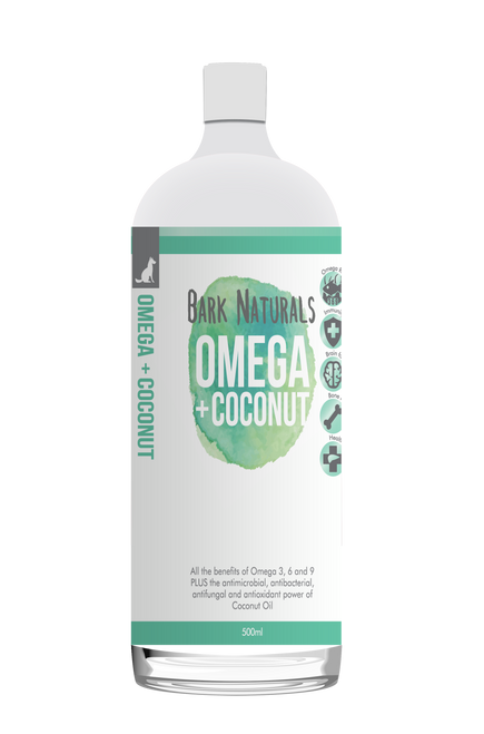 Omega + Coconut 500ml