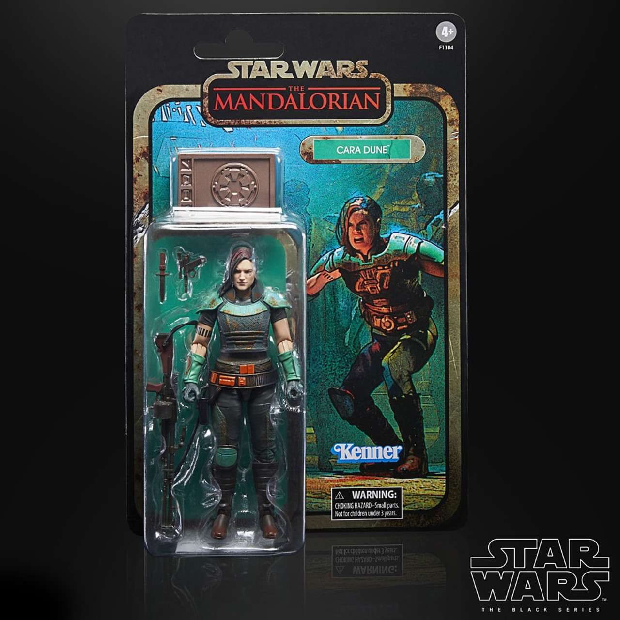 Cara Dune Star Wars The Black Series Credit Collection