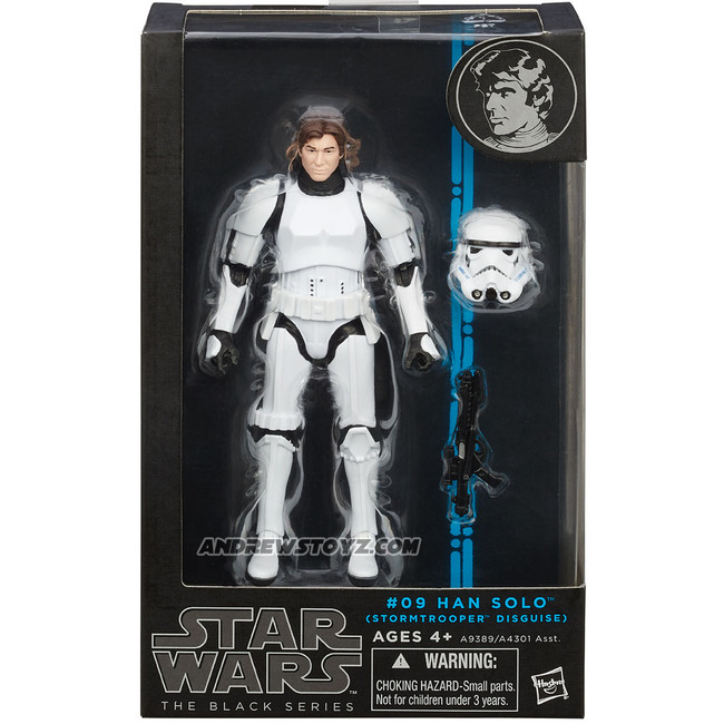 Black Series 6-inch 2015 #09 Han Solo in Stormtrooper Disguise