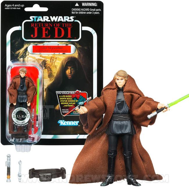 The Vintage Collection #87 Luke Skywalker (Lightsaber Construction, Deleted Scene)
