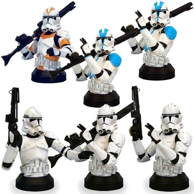 Clone Trooper ROTS Mini Bust Case of 6