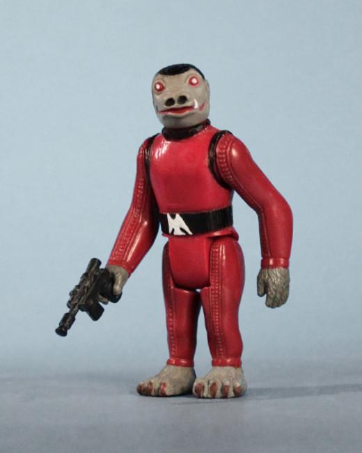 Snaggletooth Red Jumbo Vintage Kenner Figure