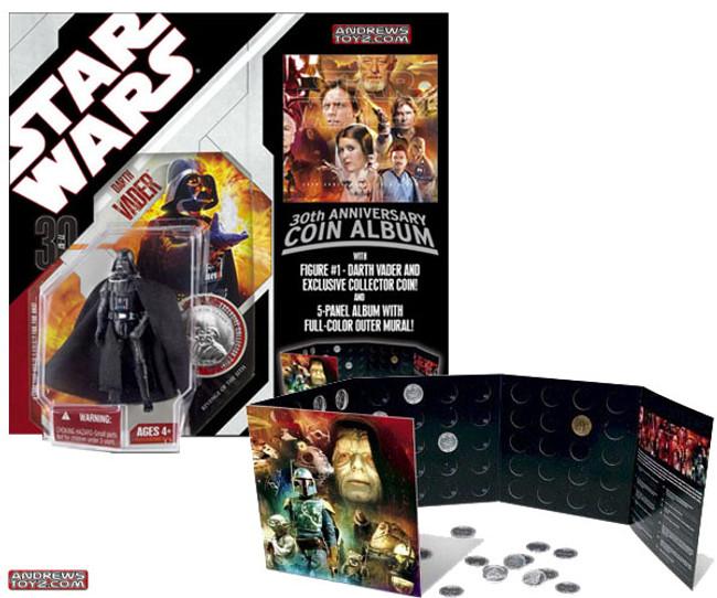 30th Anniverary Darth Vader with Coin Album