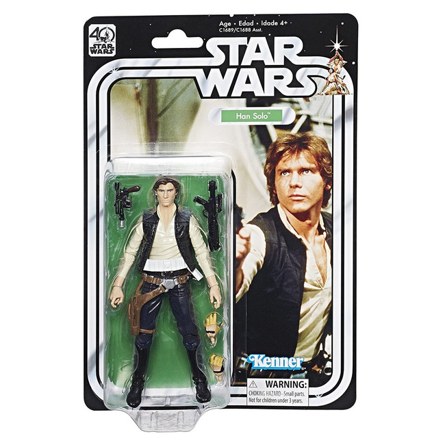 Black Series 40th Anniversary Han Solo