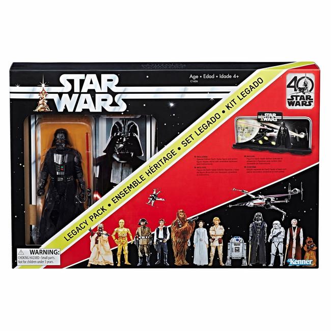 Black Series 40th Anniversary Darth Vader Early Bird Legacy Pack