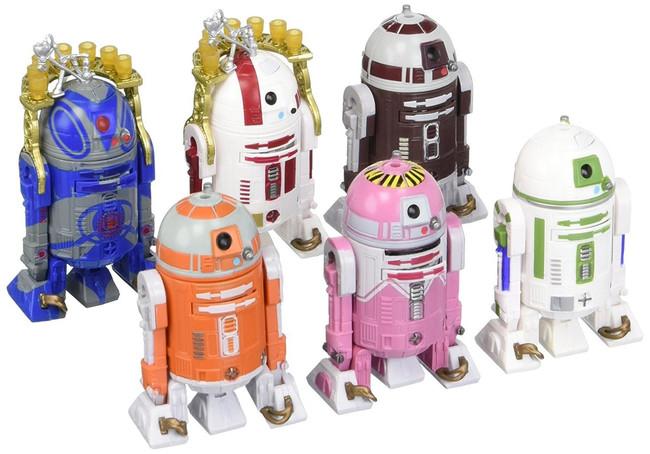 """Black Series 3.75"""" Astromech Droids Exclusive 6 Figure Set"""