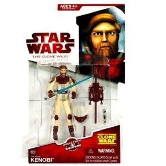 Clone Wars 2009 Obi-Wan Kenobi #CW12 (in space gear)