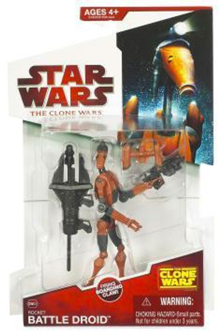 Clone Wars 2009 Rocket Battle Droid #CW03 [Not mint Box]