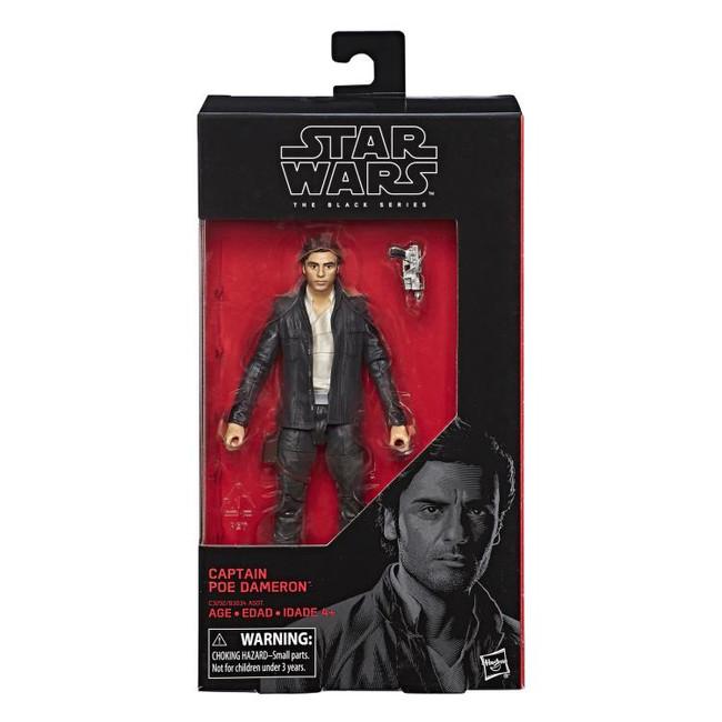 Black Series 6-inch The Last Jedi #53 Captain Poe Dameron (Not Mint Box)