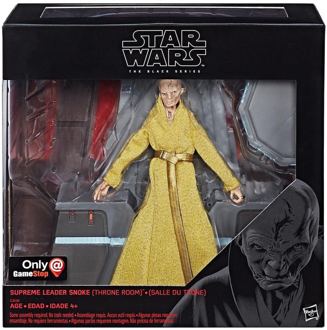 Black Series 6-inch The Last Jedi Supreme Leader Snoke (Throne Room)