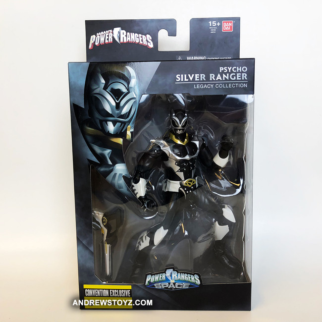 Power Rangers in Space Legacy Psycho Silver Figure