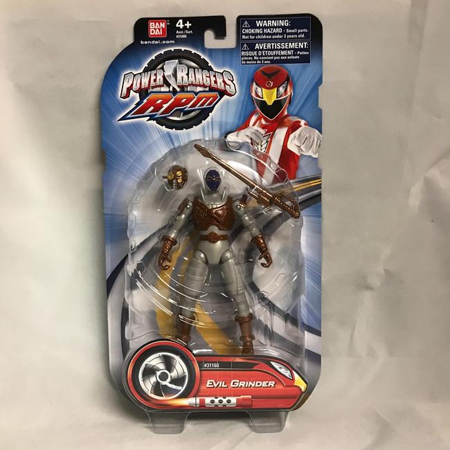 Power Rangers RPM Evil Grinder Action Figure