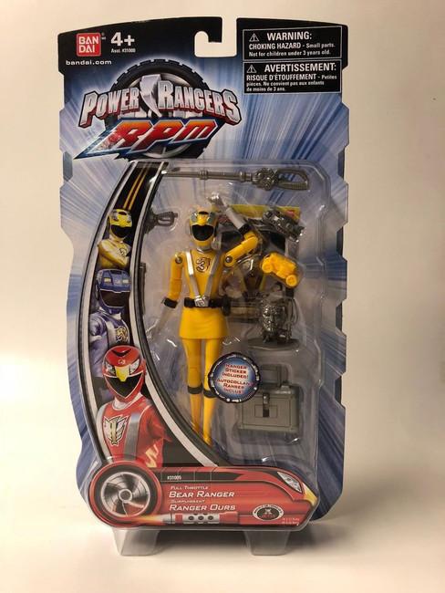 Power Rangers RPM Full Throttle Yellow Action Figure