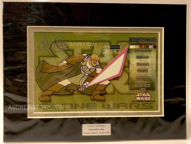 Character Key Mace Windu Clone Wars