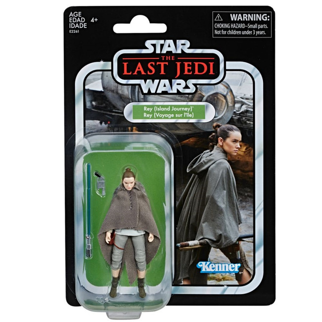 The Vintage Collection #122 Rey Jedi Training (Exclusive) [Not Mint Box]