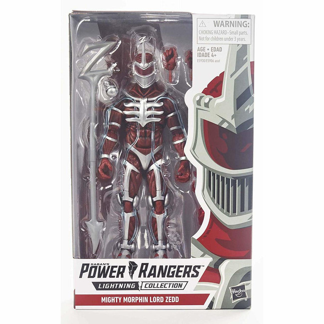 Power Rangers Lightning Collection Lord Zedd Mighty Morphin 6-inch Figure