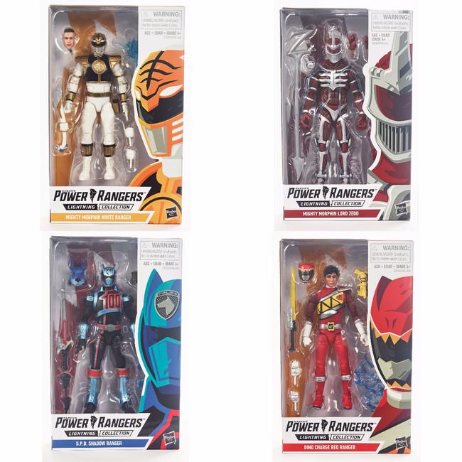 Power Rangers Lightning Collection Wave 1 Set of 4 Figures