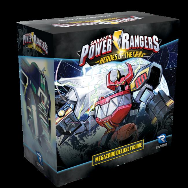 Power Rangers Heroes of the Grid Megazord Deluxe Figure