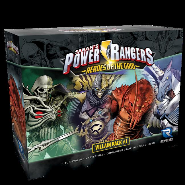 Power Rangers Heroes of the Grid Villain Pack 1