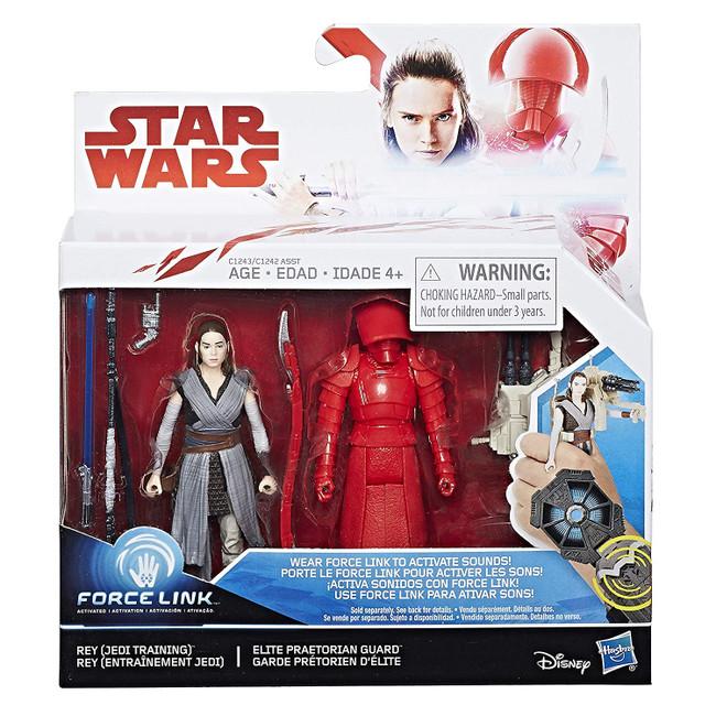 Force Link The Last Jedi 2-Pack Rey  and Elite Praetorian Guard