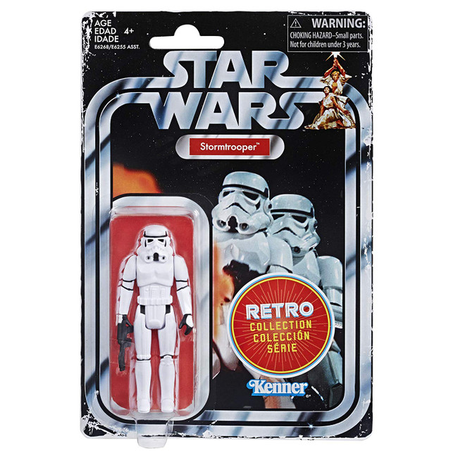 Star Wars Retro Collection Stormtrooper [NOT MINT BOX]