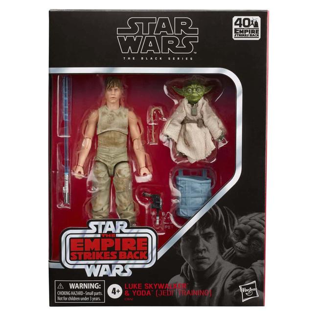 Black Series Luke Skywalker Dagobah & Yoda Figure Set