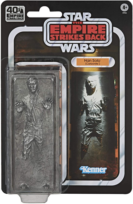 Black Series 6-inch Empire Strikes Back 40th Han Solo Carbonite