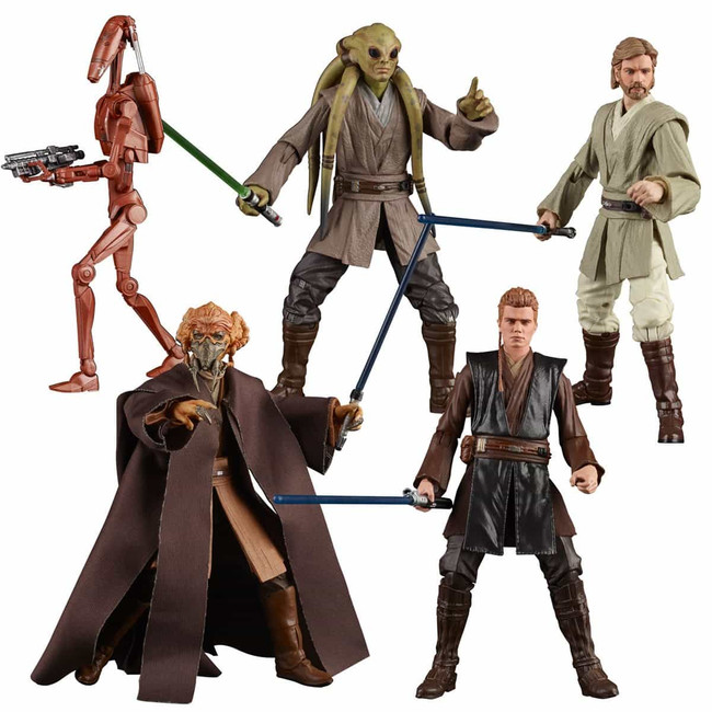 Black Series 6-inch Wave 25 Case of 8 Figures
