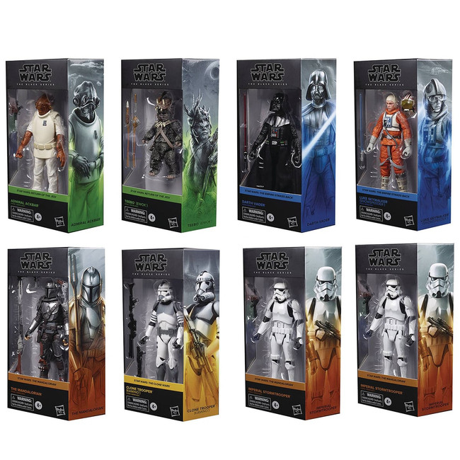 Black Series 6-inch Wave 26 Case of 8 Figures