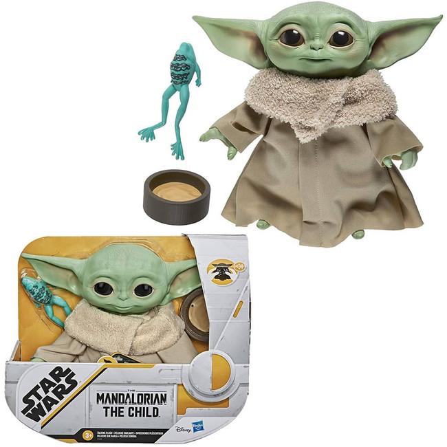 The Child Baby Yoda 7.5-inch Electronic Plush