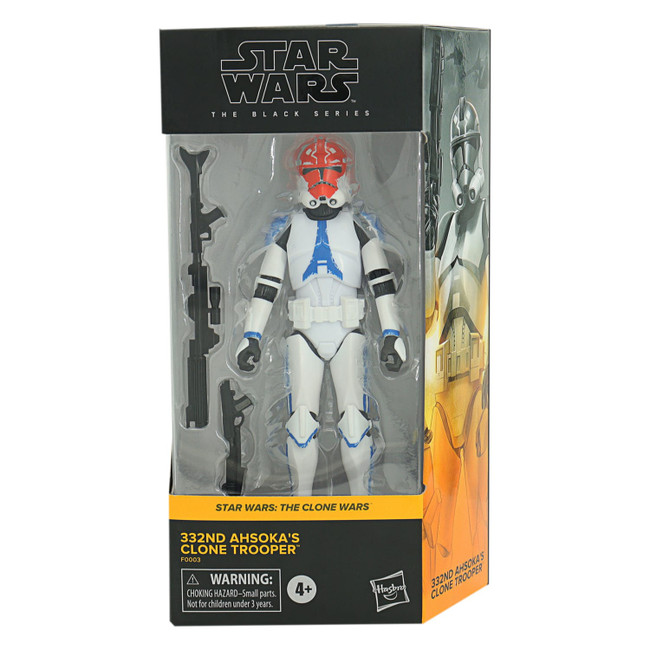 Black Series 6-inch Clone Wars 332nd Clone Trooper [Not Mint Box]