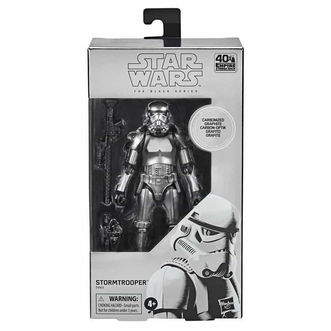 Black Series 6-inch Carbonized Stormtrooper Metallic Figure