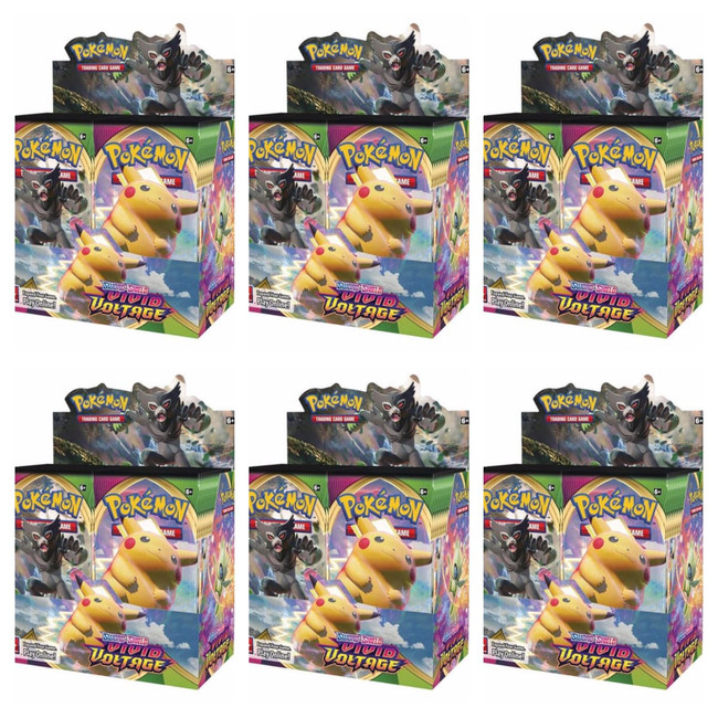 Pokemon Vivid Voltage Booster Boxes (Case of 6)